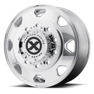 ATX Series Octane OTR Semi Front Wheel 22.5x8.25 Polished 10x285.75 91mm Offset
