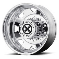 ATX Series Octane OTR Semi Rear Wheel 24.5x8.25 Polished 10x285.75 -95mm Offset