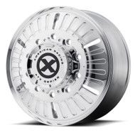 ATX Series Roulette OTR Semi Front Wheel 22.5x8.25 Polished 10x285.75 91mm Offset