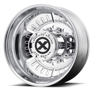 ATX Series Roulette OTR Semi Rear Wheel 24.5x8.25 Polished 10x285.75 -95mm Offset