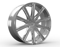 Kronik Epiq 404 Wheels Rims Chrome 22x8.5 5x4.5  5x120 40 | 4042281740C