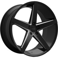 Rosso Affinity 705 Wheels Rims Black 22x8.5 5x115 15 | 7052281515BML
