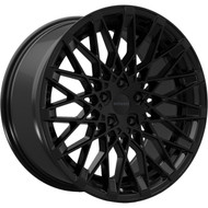 Rosso Skism 703 Wheels Rims Black 22x8.5 5x4.5  40 | 7032281240B