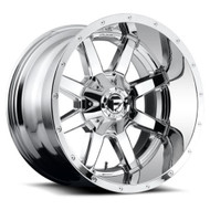 Fuel Maverick D536 24x14 Wheels Rims Chrome -75 | D53624408245