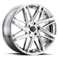 Milanni Blitz 9062 20X9 Wheels Rims Chrome 38 | 9062-2965C38