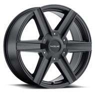 Raceline Phantom 157B 20x8.5 Wheels Rims Black 35 | 157B-28500+35(6P)
