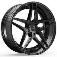 Rosso Reactiv 701 22x8.5 5x120 Black Wheels Rims 25 | 7012285225B