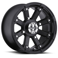 Vision UTV Lock Out 393 14X8 Matte Black Wheels Rims 4x4 (4x101.6) -10 | 393-14844MB4