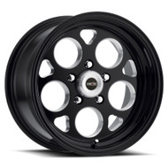 Vision Sport Mag 561 17X4.5 Black Milled Wheels Rims 5X4.5 (5X114.3) -24 | 561-7465B-24
