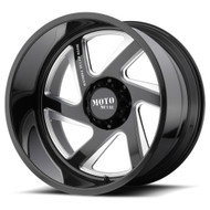 Moto Metal MO400 24x12 Milled Black Wheels Rims 5x127 (5x5) -44 | MO40024250944NR