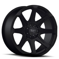 TUFF T05 WHEELS 20x9 FLAT BLACK