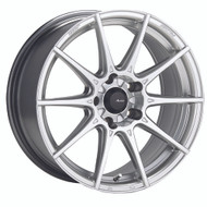 Advanti Racing ® Storm S1 79S Wheels Rims Silver 17X9 5x4.5 (5x114.3) 30 | 79S-SM7951430S