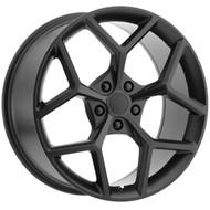 Oe Creations ® 126MB Wheels Rims Matte Black 20x9 5x120 30   126MB-291230