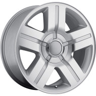 Oe Creations ® 147S Wheels Rims Silver Machined 26x10 6x5.5 (6x139.7) 31 | 147S-2615831
