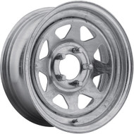 Pacer ® Galvanized 8 28GA Wheels Rims Galvanized 14X6 5x4.5 (5x114.3) 0 | 28GA-4612-1