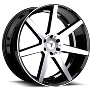 Status ® Journey S838 Wheels Rims Machined Black 24X10 6x5.5 (6x139.7) 25 | 2410JUR256140F78