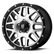 Xd Series ® Grenade XD820 Wheels Rims Black Machined 17x7.5 6x130 45 | XD82077538545