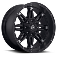 "FUEL HOSTAGE WHEELS 17X8.5 BLACK   5X127 / 5"" AND 5X139.7 / 5.5"""
