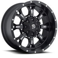 "FUEL KRANK WHEELS 17X9  BLACK & MILLED   5X127 / 5"" AND 5X139.7 / 5.5"""