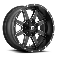 FUEL MAVERICK WHEELS BLACK & MILLED D538 17X10  8X6.5