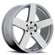 Black Rhino Everest 22x9.5 6x135 Silver 30 Wheels Rims | 2295EVE306135S87