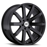 Black Rhino Traverse 22x9.5 6x5.5 6x139.7 Matte Black 25 Wheels Rims | 2295TRV256140M12