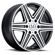 Mandrus Atlas 16x7 6x130 Gunmetal 52 Wheels Rims | 1670MAT526130G84
