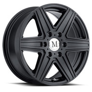 Mandrus Atlas 18x8 6x130 Matte Black 52 Wheels Rims | 1880MAT526130M84
