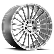 Tsw Turbina 22x11 5x120 Silver 25 Wheels Rims | 2211TUR255120S76