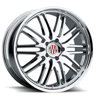 Victor Lemans 18x11 5x130 Chrome 52 Wheels Rims | 1811VIL525130C71