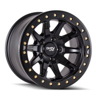 Dirty Life DT-2 9304 17x9 6x5.5 6x139.7 Matte Black -12 Wheels Rims | 9304-7983MB12