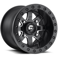 Fuel UTV Maverick D928 Wheel Gloss Black 14x8 4x136 - 4x137 0mm -FREE LUGS-DISCOUNT IN CART