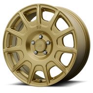 MOTEGI RACING MR139 WHEELS 15x7 5x100 - GOLD