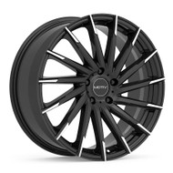 Motiv Montage 417MBT Wheel Black Machine 18x8 5x4.5 (5x114.3) 42mm