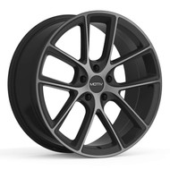 Motiv Murano 420MBDT Wheel Black w/ Dark Tint 20x8.5 5x4.5 (5x114.3) 35mm