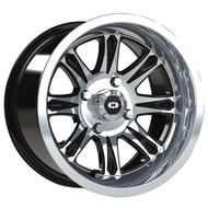 Vision UTV Spirit 547 Wheel Black Machine 14x8 4x110 0mm