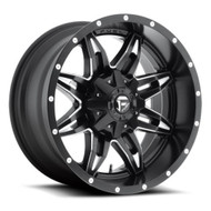 FUEL LETHAL WHEELS BLACK & MILLED D567 20X10  5X5.5
