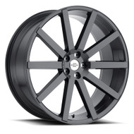 Redbourne Kensington Wheel 24x10 5x120 Gunmetal Gray 35mm