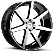 Status® Journey Wheels Rims 24x10 5x120 Machine Black 30 | 2410JUR155120F74