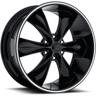 Foose Legend Six Wheels 20x9 6x5.5 (6x139.7) Black 25mm | F138209077+25