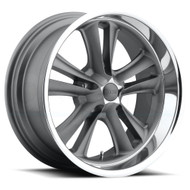 Foose Knuckle Wheels 18x9.5 5x4.75 (5x120.65) Gun Metal 1mm | F09918956152