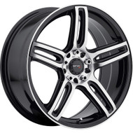 Drifz 307MB Tech R Wheels 18x8 5x110 & 5x4.5 Black Machine 35mm | 307MB-8802335