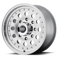 American Racing Outlaw II Wheels 14x6 5x4.5 Machine 6mm | AR624665