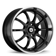 Konig Lightning 26MB Black Machined Wheels Rims 14x6 4x100 4x4.5  38 | 26MB-LI46D04385