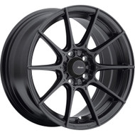 Advanti Racing ® Storm S1 79B Wheel 17X8 Matte Black 4X108 45mm | 79B-SM78108455