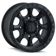 Dirty Life ® Ironman Street 9300 Wheel 17X8.5 Black Beadlock 6X5.5 6X139.7 -6mm | 9300-7883MB6