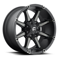 "FUEL COUPLER 20X9 DUAL DRILLED 5X150 & 5X139.7 / 5.5"" 01MM OFFSET   BLACK & MACHINED WITH DARK TINT"