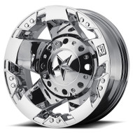 XD ROCKSTAR DUALLY WHEELS -  REAR 16X6 8X170.00  CHROME -94MM OFFSET