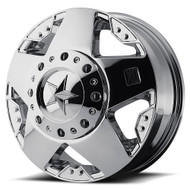 XD Rockstar XD775 Dually Wheels 16X6 8x170 Chrome 134 | XD77566087299