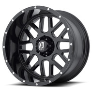 "XD XD820 Wheels 20X12 8X6.5"" Black -44 